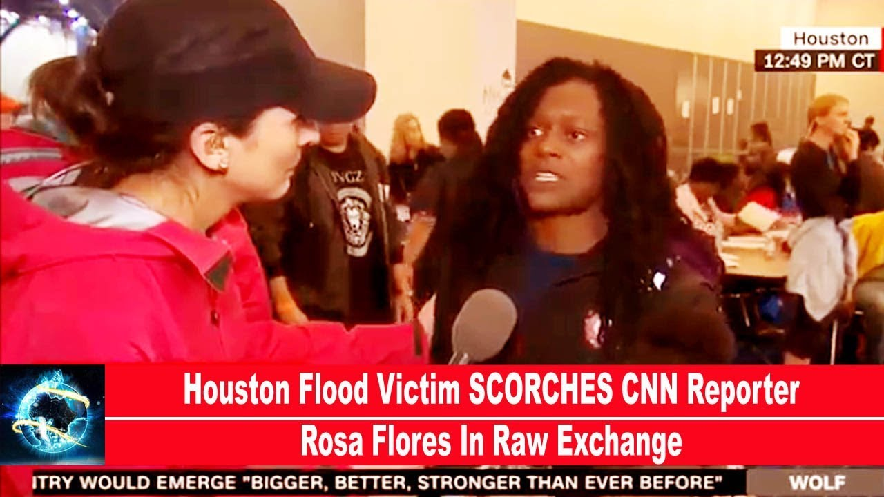 rosa flores gets lashed on houston harvey 2017