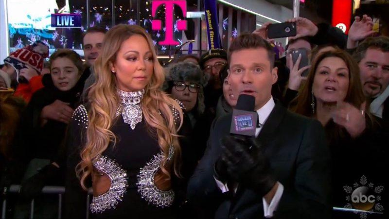 ryan seacrest still angry at mariah carey for new years eve mess