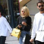 scott disick working bulge on sofia richie now