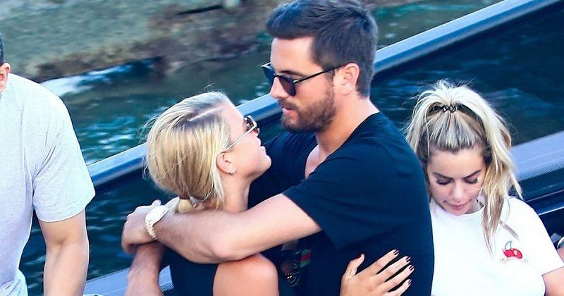 sofia richie scott disick come out together