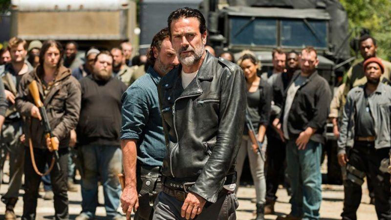 walking dead negan season 8 hits