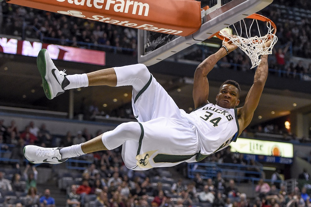 Giannis Antetokounmpo shows how an NBA MVP bid does it 2017 images