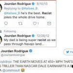 Jourdan Rodrigue nigga talk racism on cam newton