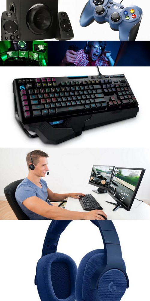 Logitech G910 Orion Spectrum keyboard gaming geeks holiday gifts