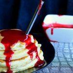bloody pancakes recipe healthy halloween