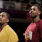 cavaliers shakes things up for j.r. smith tristan thompson 2017 images