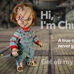childs play chucky hot horror gift collectible