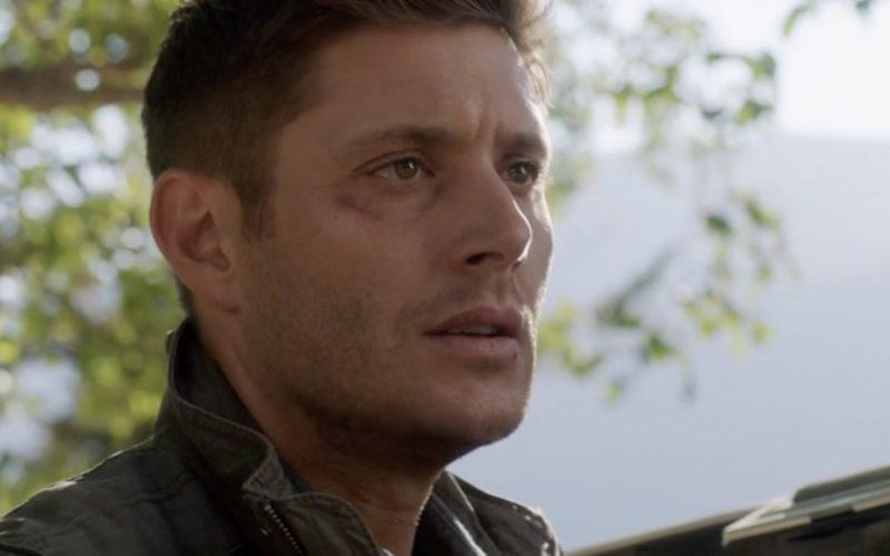 dean winchester straight trade supernatural beaten eye