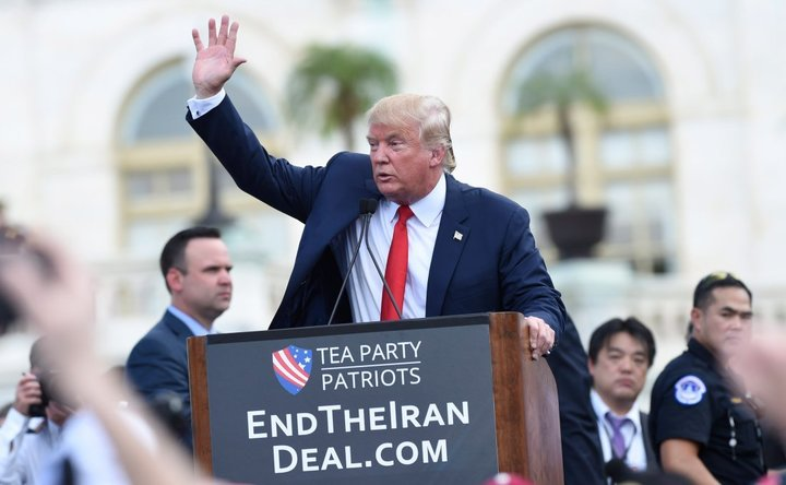 donald trump kinda ends iran nuke deal without pulling out