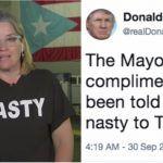 donald trump nasty woman carmen cruz puerto rico