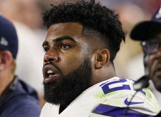 ezekiel elliott continues feud with nfl over suspension 2017 images