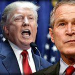 george w bush has his say on donald trump 2017 iamges