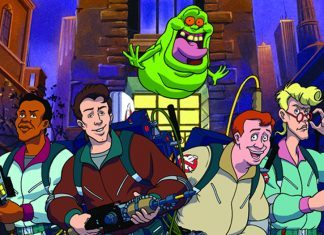 ghosts finally get their say in new ghostbusters animated movie 2017 images