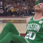 gordon hayward leg break during boston celtics debut nba