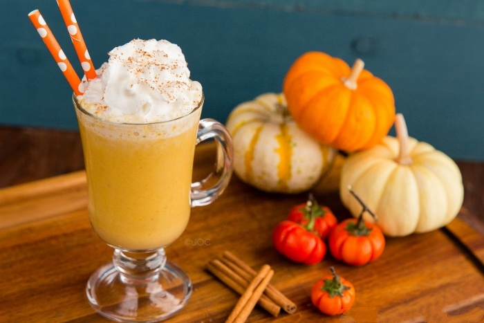 halloween pumpkin smoothie whole food healthy