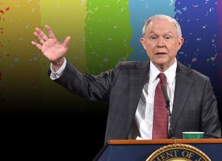 jeff sessions gives religion more freedom to discriminate against lgbt community 2017 image