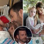 jimmy kimmel baby heart surgery postponed from cold