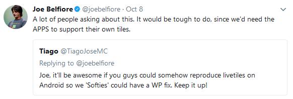 joe belfiore tweet 3 microsoft phone issues