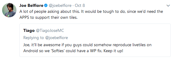 joe belfiore twitter 1 microsoft phone problems