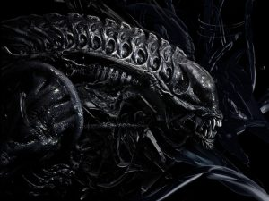 live size alien xenomorph collectible
