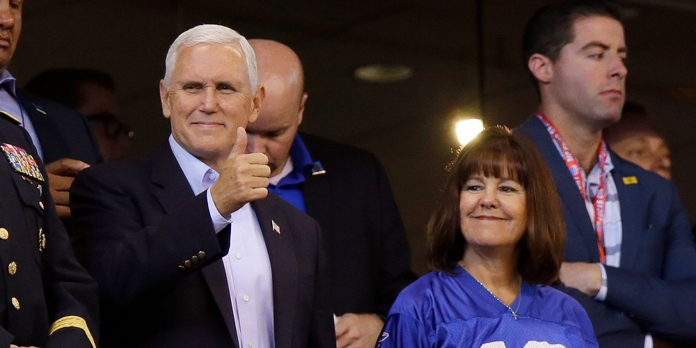 mike pence expensive nfl protest pr stunt