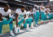 nfl overcomes donald trumps anthem protest war 2017 images