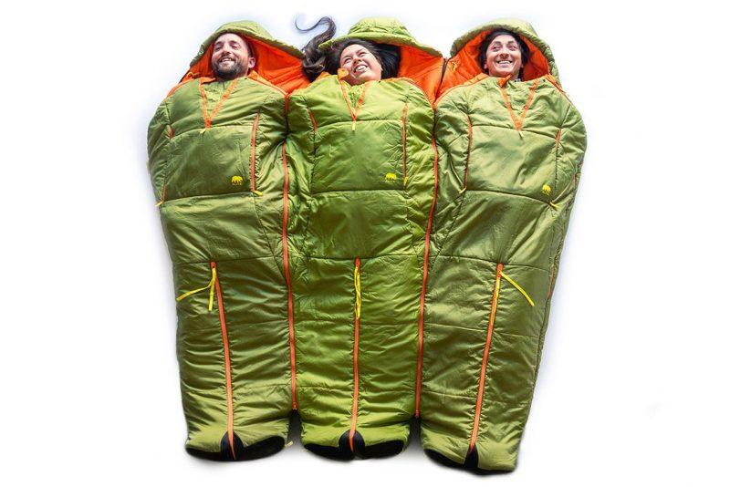 outdoor sleeping bag camping holiday gift guide ideas