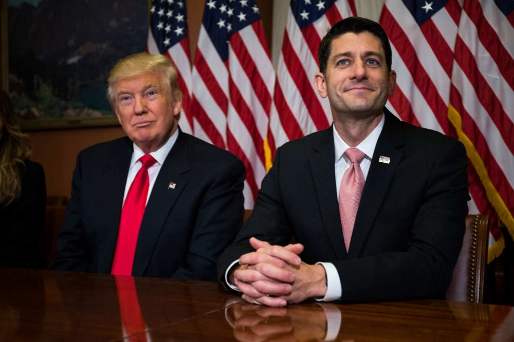 paul ryan now speaks for donald trump about race 2017 images