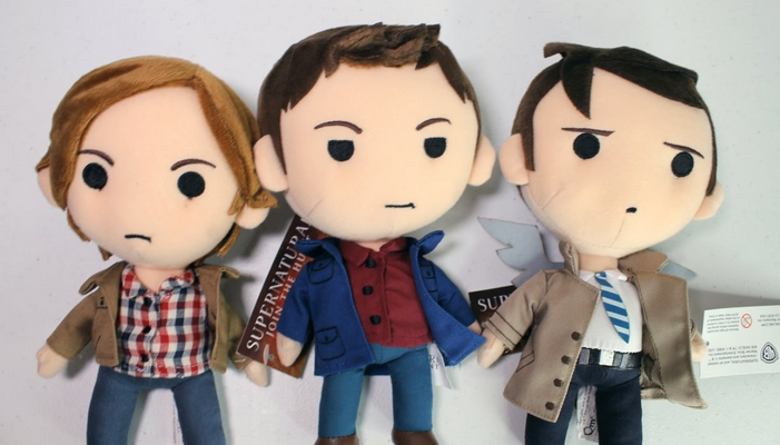 qpals plush supernatural collectibles set holiday gift ideas 2017