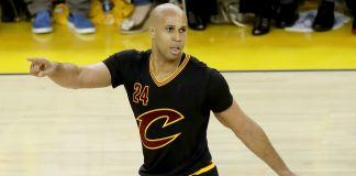 richard jefferson leaves cavaliers for hawks to become a nugget 2017 images