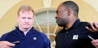 roger goodell fights for nfl control as demaurice smith enters 2017 images