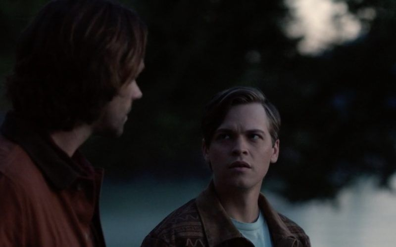 sam winchester saying goodbye to jack supernatural 1301