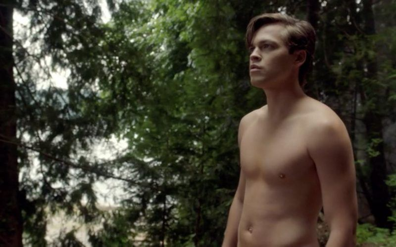 supernatural 1301 jack stripping down for fast food father