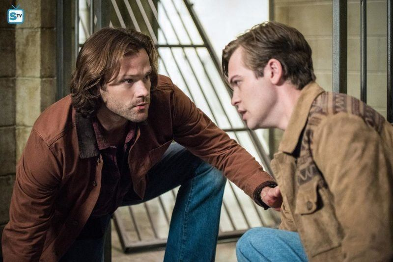 supernatural 1301 sam winchester with jack movie tv tech geeks