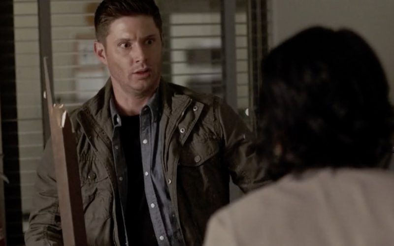 supernatural dean winchester facing off to supernatural angels