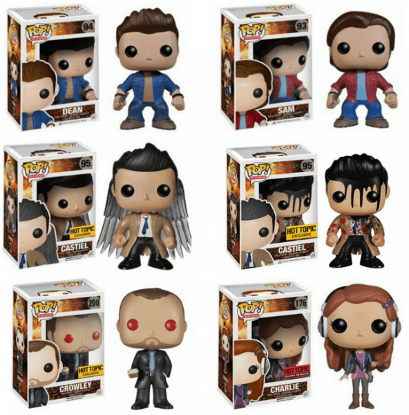 supernatural funko pop set top collectibles