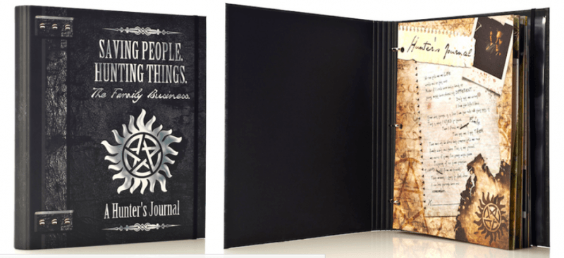 supernatural licensed hunters journal mttg collecticles