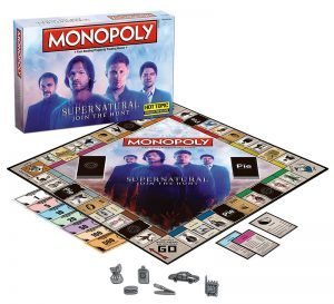 supernatural monopoly game winchester hot holiday gift ideas 2017