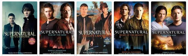 supernatural novels top collectibles movie tv tech geeks