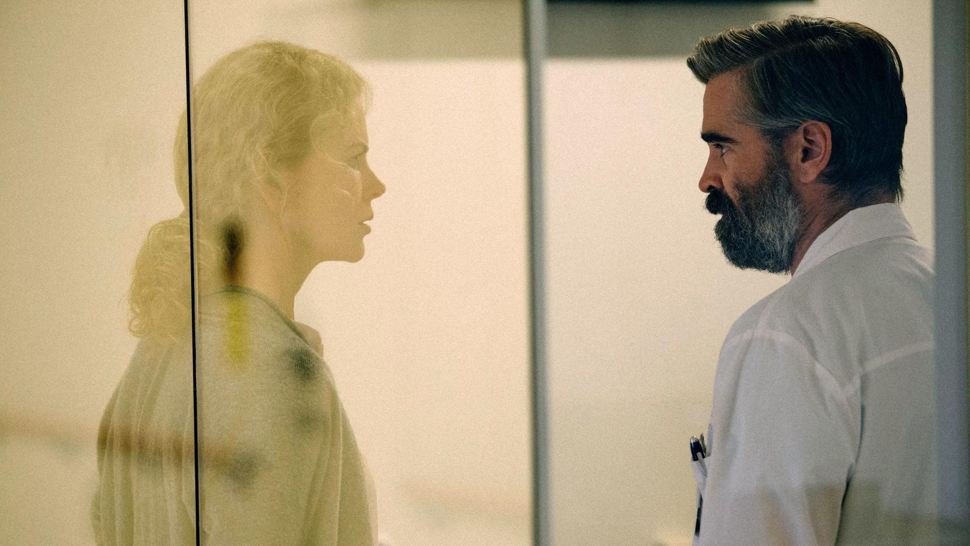 the killing of a sacred deer colin farrell and nicole kidman