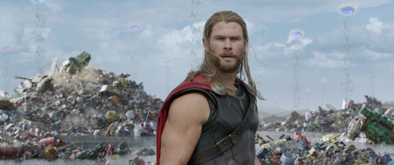 thor ragnarok chris hemsworth long hair movie images