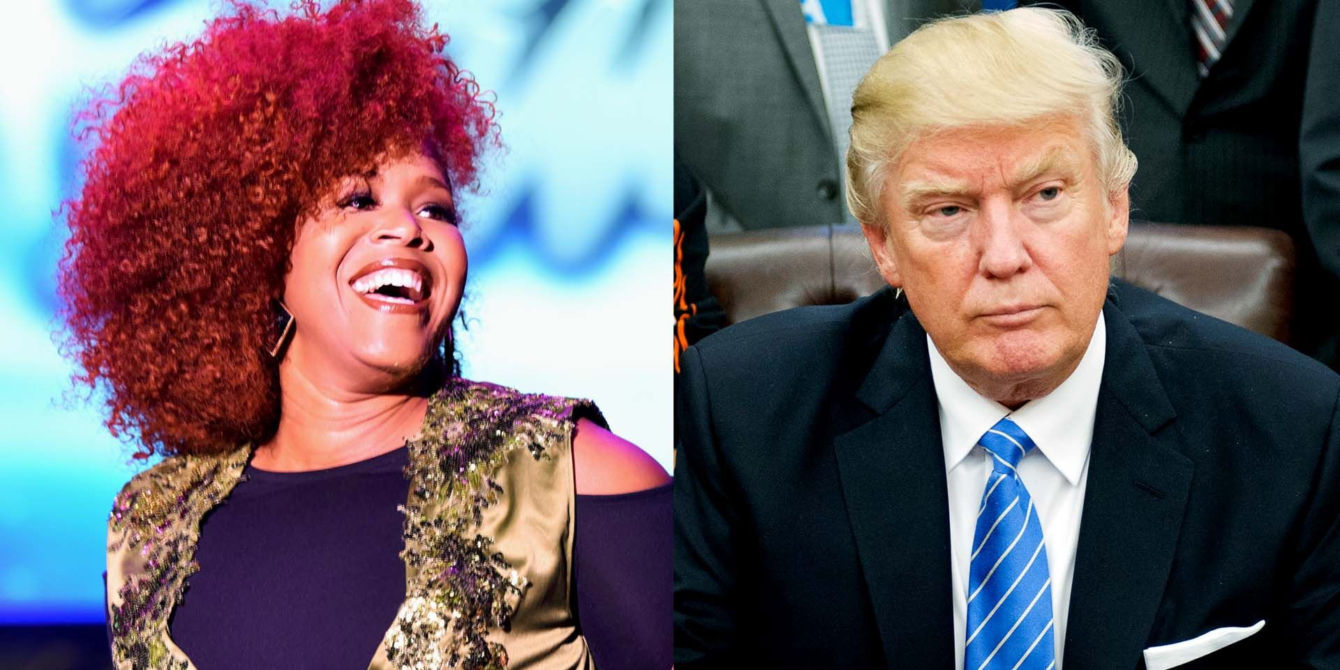 tina campbell using christian values to support donald trump mary mary 2017
