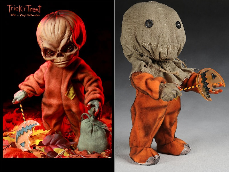 trick or treat pumpkinhead dolls