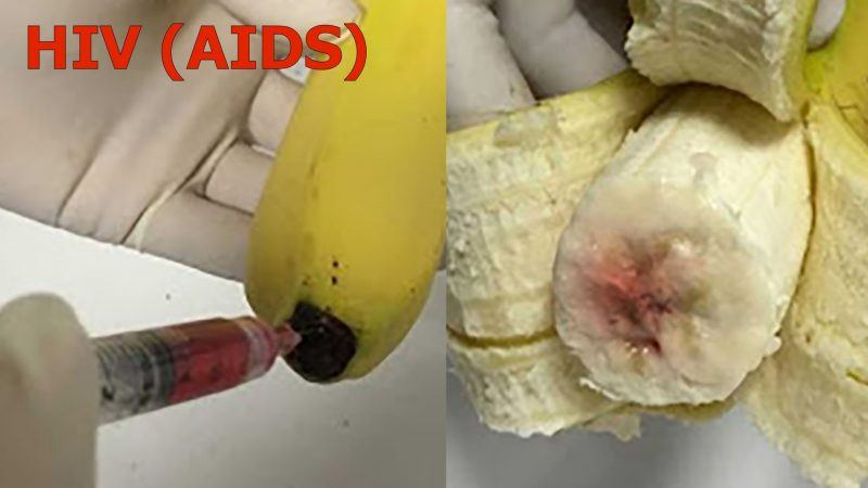 walmart bananas infected with hiv aids virus