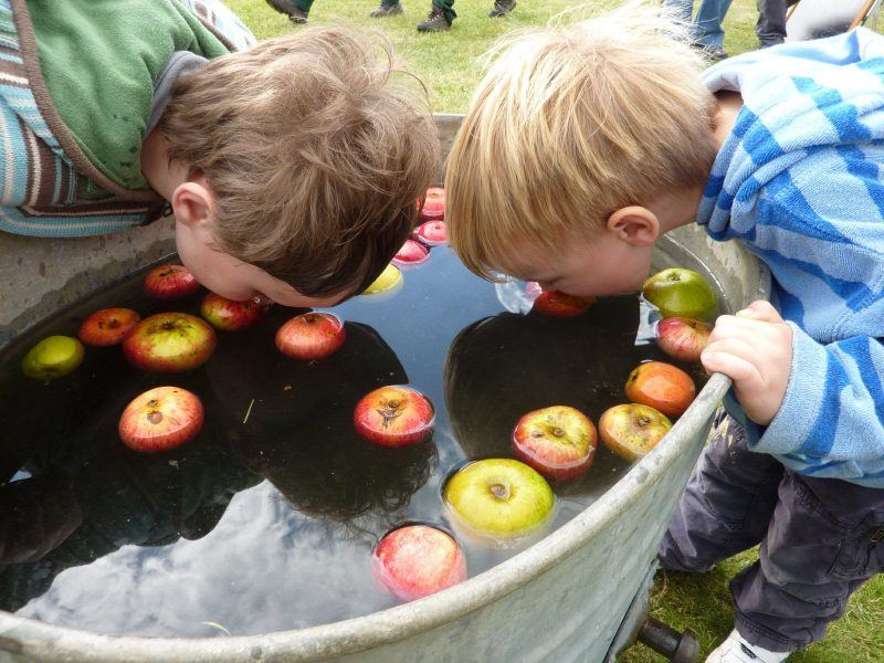 whole food bobbing for apples halloween
