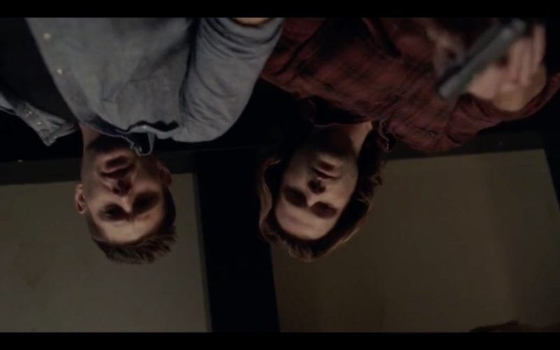 winchester brothers looking down at donatello supernatural