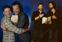 'Supernatural's' Jared Padalecki and Jensen Ackles talk about Writing a Book for the #SPNFamily 2017 images