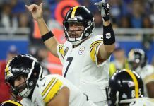 Ben Roethlisberger brings steelers alive with 20-17 win against colts 2017 images