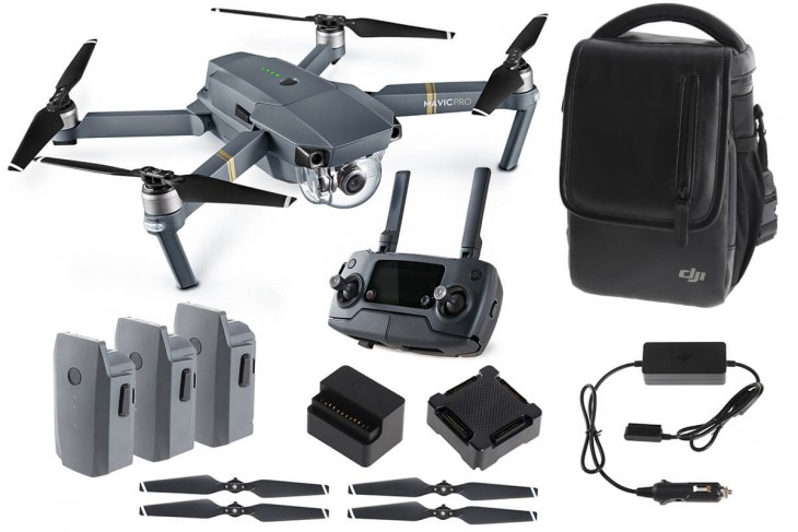 DJI Mavic Pro FLY MORE COMBO Collapsible Quadcopter backpack 2017 hot holiday kid tech toys