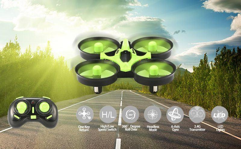 EACHINE E010 Mini UFO Quadcopter Drone 2017 hot holiday tech kids toys